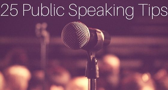 Public Speaking and Presentation Skills Tips