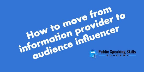 Increase your influence