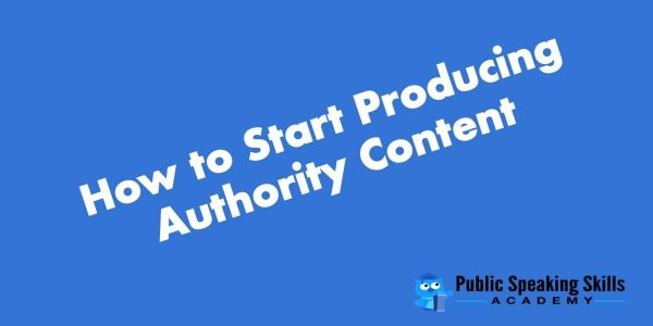 How to produce authority content