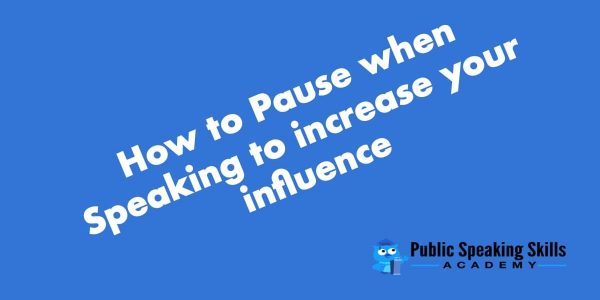 Power of the Pause