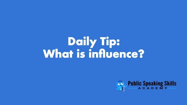 what is influence