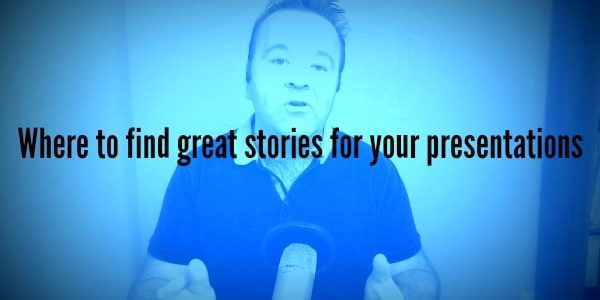 Stories for great presentations
